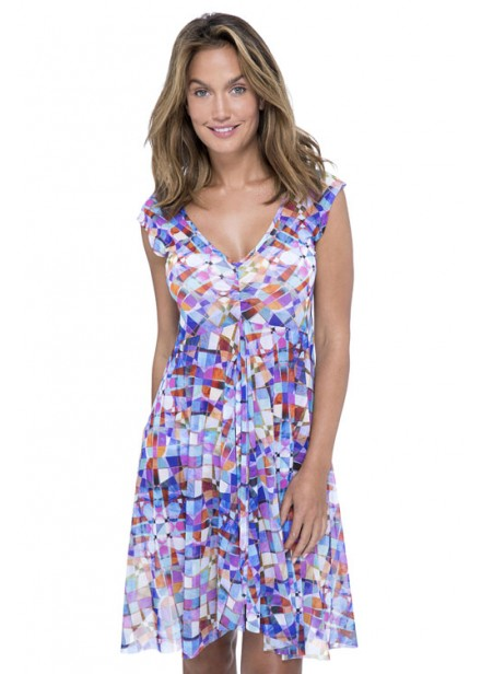 Gottex Via Veneta V-Neck Cover-Up