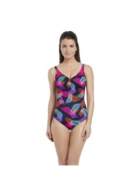 Fantasie Tamlamanca V-Neck Swimsuit With Adjustable Leg