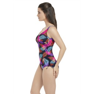 Fantasie Tamlamanca V-Neck Swimsuit With Adjustable Leg