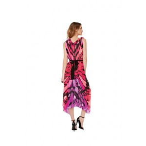 Gottex Monarch Duster Cover Up With Armholes & Belt