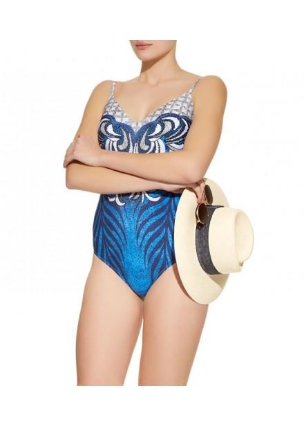 Gottex Geometric Print Swim suit