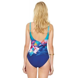 Gottex Hawaii Square Neck Tank One-Piece