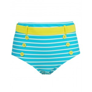 Pour Moi Starboard Control Brief - Turq/Lemon