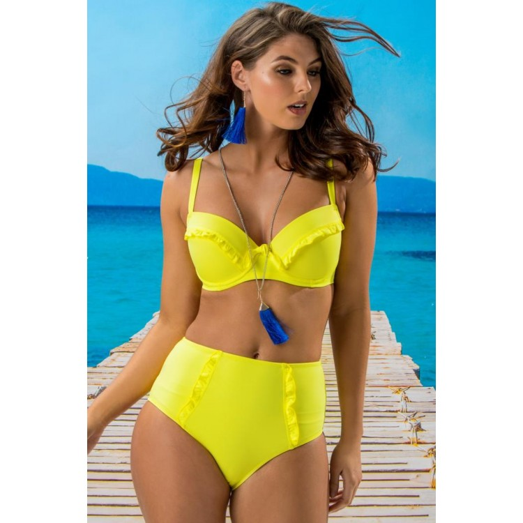 Getaway Padded Convertible Underwired Top - Sunshine