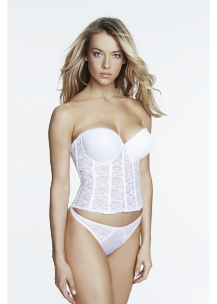 Dominique Push-Up Bridal Basque